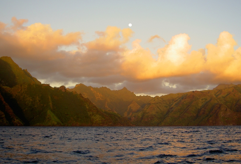 Mysterious, distant, inviting, the Marquesas.  Enata Fenua.