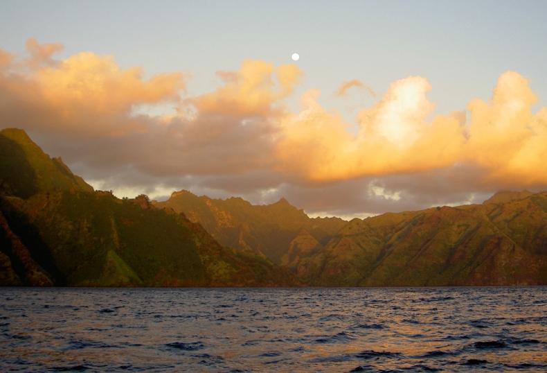 Mysterious, distant, inviting, the Marquesas.  Enata Fenua.