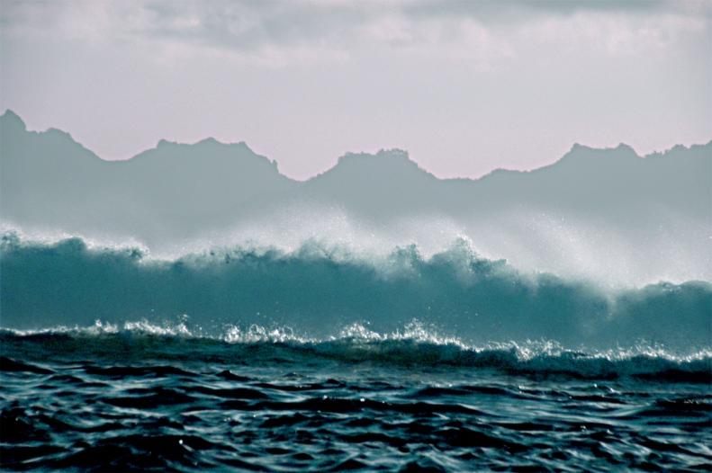 CC02 by WhittBirnie. Breakers, Tahiti reef, Moorea