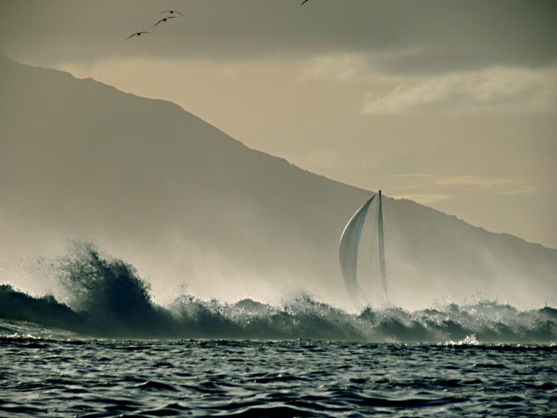 CC14 by Whitt Birnie. Dangerous sailing