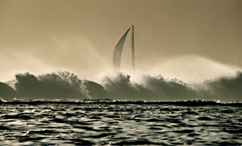 CC18 by Whitt Birnie. Surf and sail