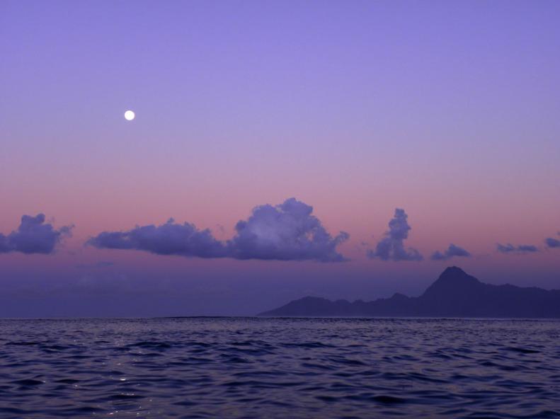 Tahiti lagoon, Moorea Island