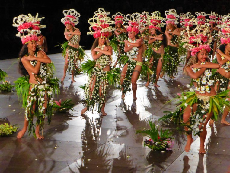 Ori I Tahiti dance group, winners of the best natural costume prize and the jury's special prize, in photos by Whitt Birnie.